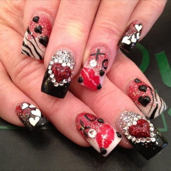 Valentine 39 s day romance for 3d nail art salon new jersey