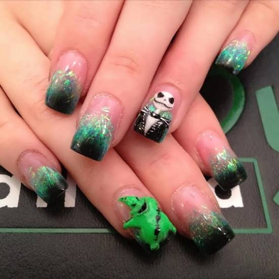 Halloween Nail Art Designs Without Nail Salon Prices: Halloween & The Extreme Nail Designs Collection By Envy