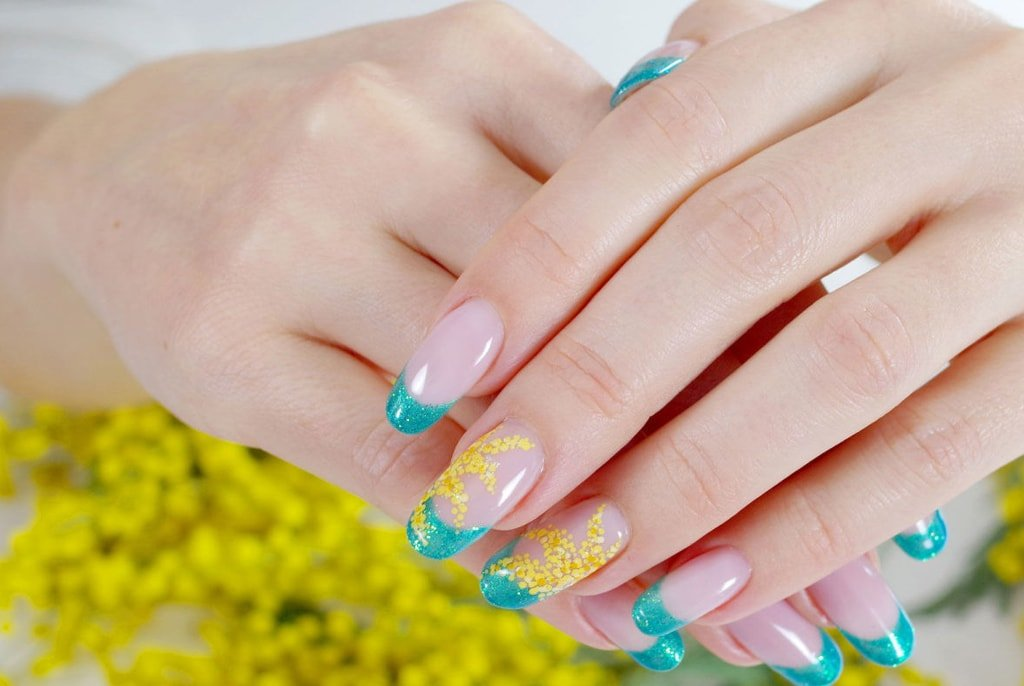Get younger looking hands by regular manicures at nail salon for At nail salon