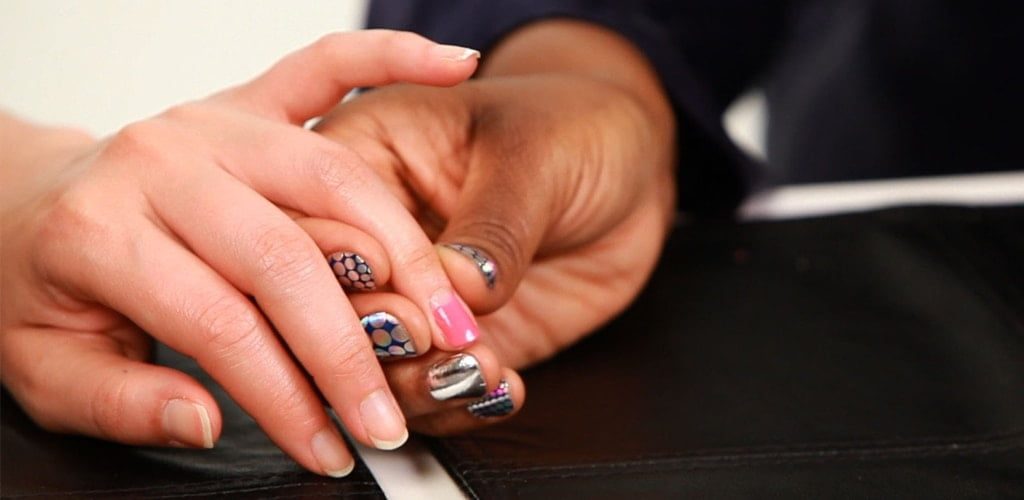 French Manicures and Reverse French Manicures min